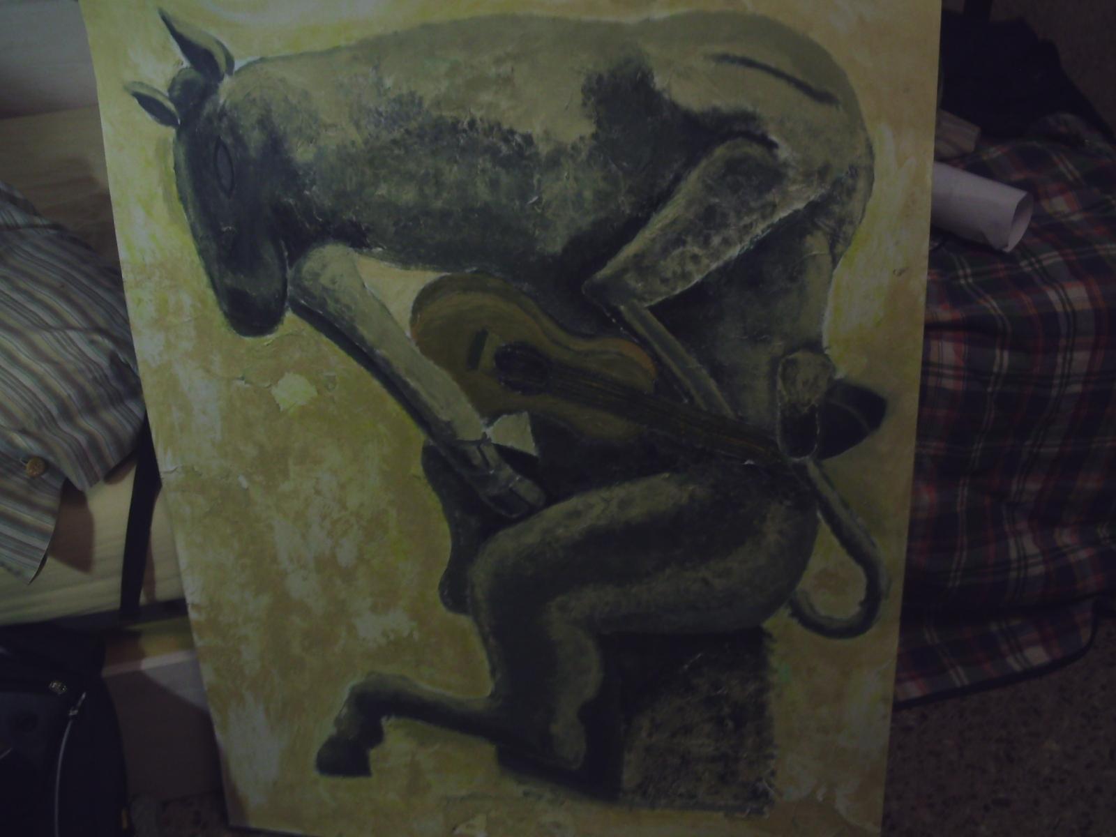 El toro y su guitarra